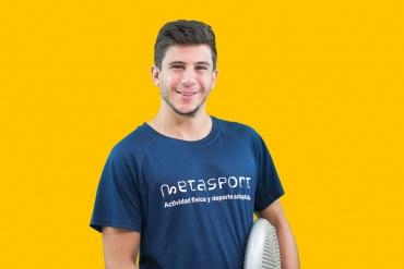Educador físico deportivo Rafa García